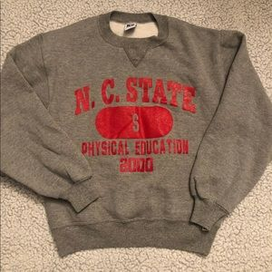Vintage Russell Athletic NC State Crewneck